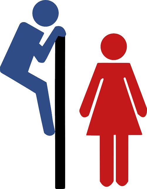 Unisex Toilet Bathroom - Free vector graphic on Pixabay (462566)