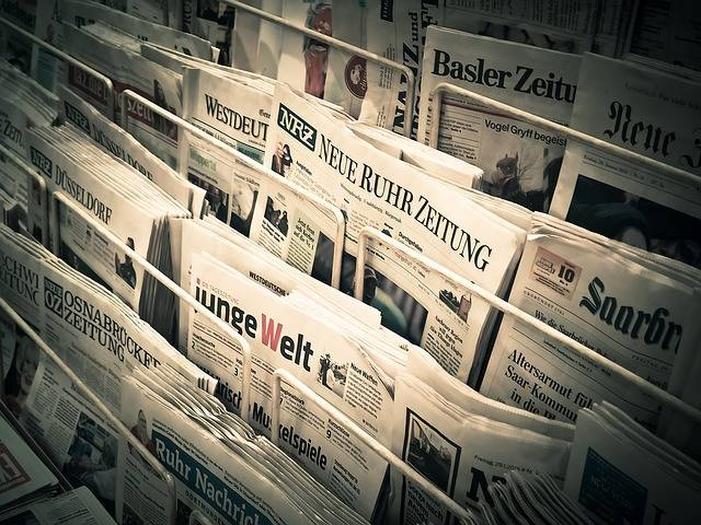 News Daily Newspaper Press - Free photo on Pixabay (462569)