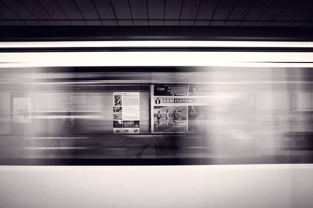 Departure Platform Subway Station - Free photo on Pixabay (462588)