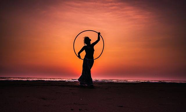 Hula Hoop Lady - Free photo on Pixabay (462782)