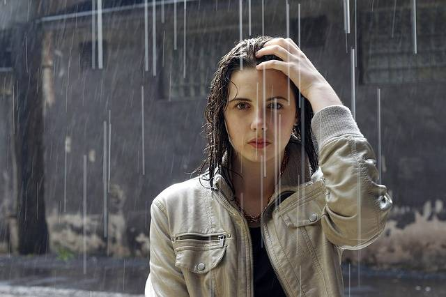 Adult Rain Woman - Free photo on Pixabay (463197)