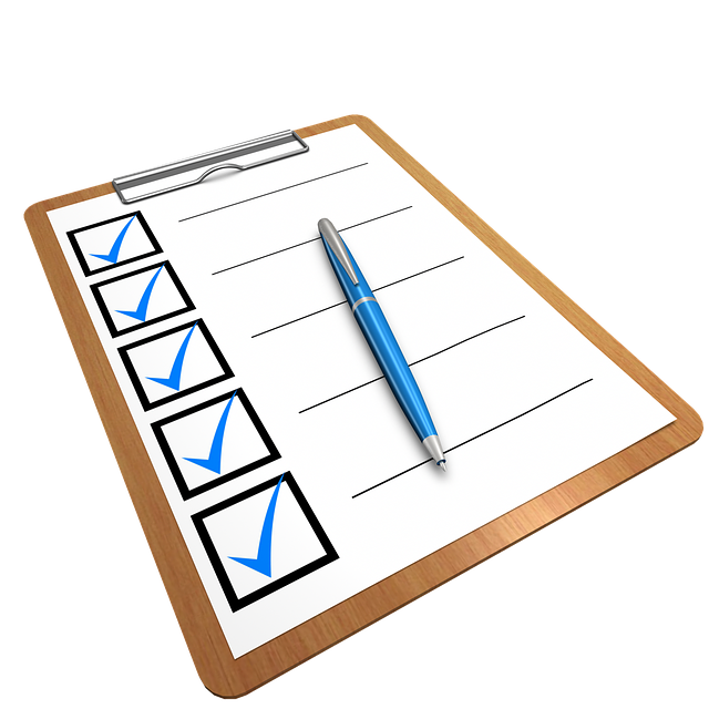Checklist Clipboard Questionnaire - Free image on Pixabay (463469)