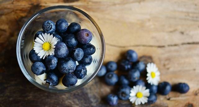 Blueberries Dessert Fruit - Free photo on Pixabay (463667)