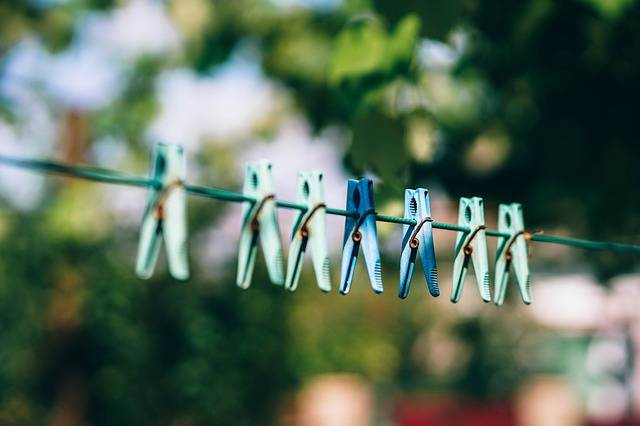 Pegs Clothe Drying - Free photo on Pixabay (463679)
