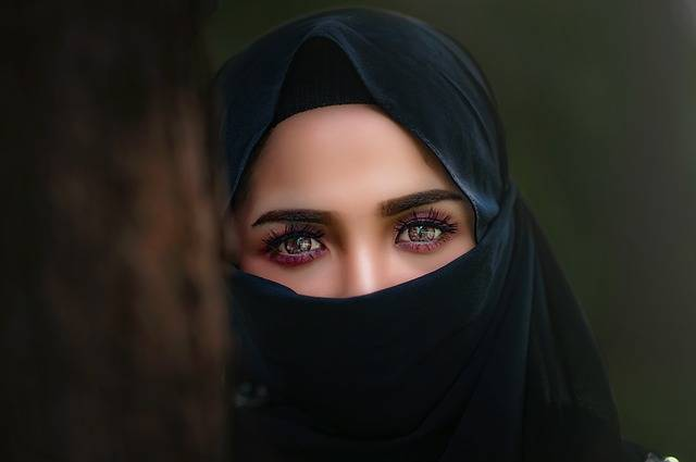 Hijab Headscarf Portrait - Free photo on Pixabay (464426)