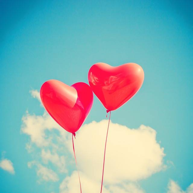 Balloon Heart Love - Free photo on Pixabay (464770)