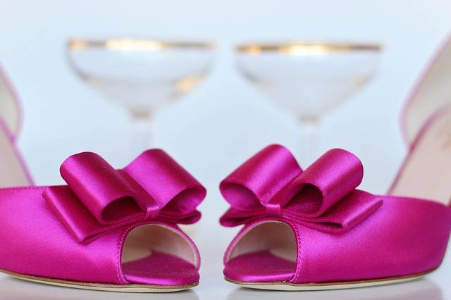 Pink Shoes Wedding - Free photo on Pixabay (464830)