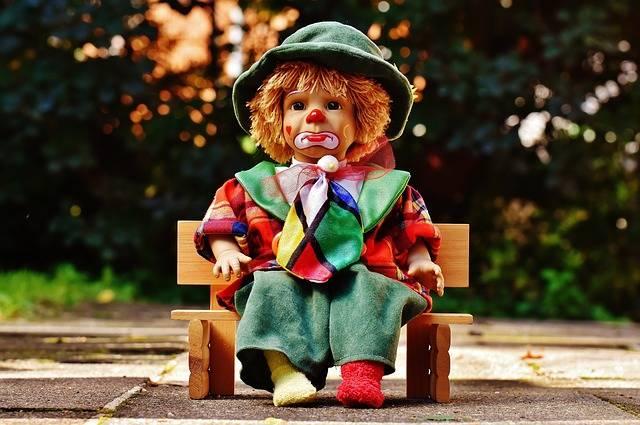 Doll Clown Sad - Free photo on Pixabay (464842)