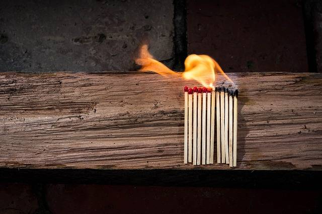 Matches Matchstick Flammable - Free photo on Pixabay (465067)
