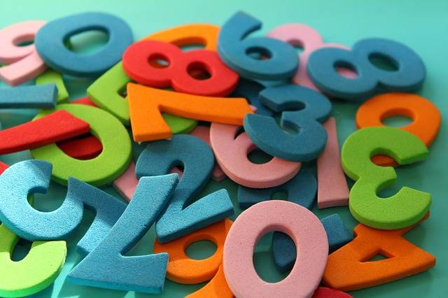 Digits Counting Mathematics The - Free photo on Pixabay (465171)