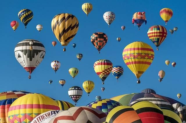Hot Air Balloons Adventure - Free photo on Pixabay (465343)