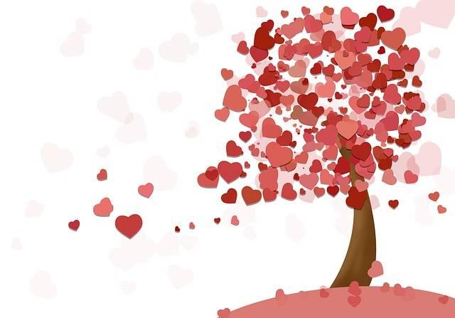 Heart Tree Love Valentine'S - Free image on Pixabay (467392)