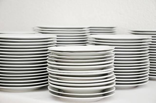 Plate Stack Tableware - Free photo on Pixabay (468817)