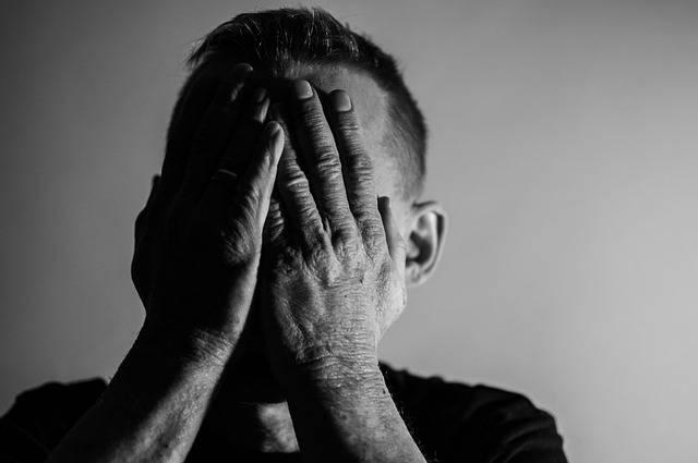 Depression Sadness Man I Feel - Free photo on Pixabay (469814)
