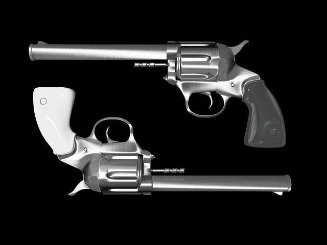Colt Revolver Pistol Hand - Free image on Pixabay (469949)