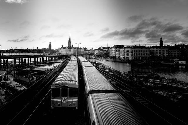 Trains Sweden Stockholm - Free photo on Pixabay (469988)