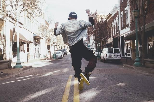 Hip Hop Dancer Silhouette - Free photo on Pixabay (470326)