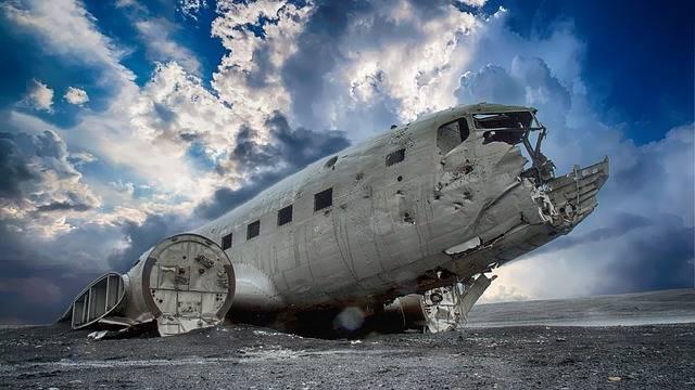 Plane Wreck Broken - Free photo on Pixabay (470550)