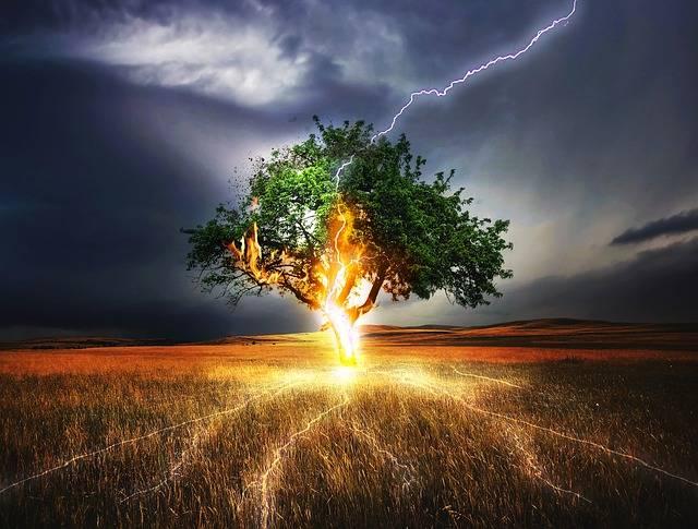 Flash Lightning Weft Impact - Free photo on Pixabay (471820)