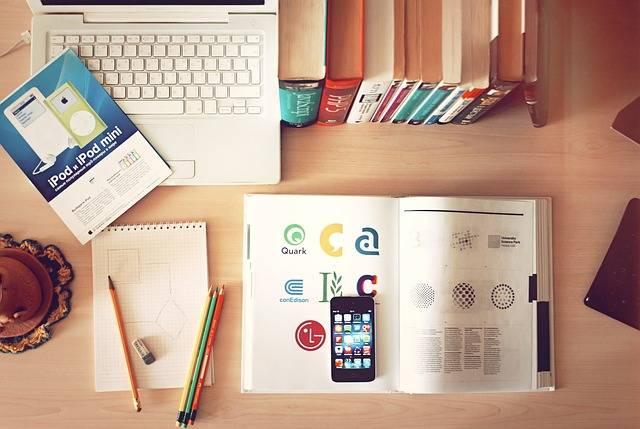 Notebook Workplace Desk - Free photo on Pixabay (472523)