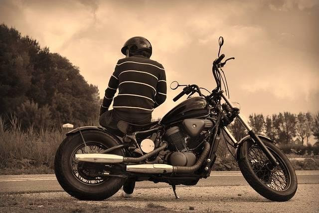 Guy Motorbike Biker - Free photo on Pixabay (473308)