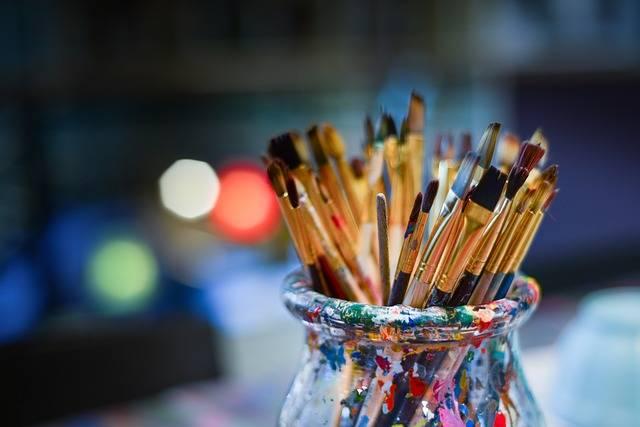 Brushes Painter Work Shop - Free photo on Pixabay (473458)
