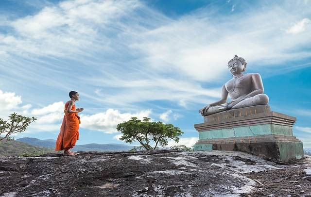 Buddhism Worship Monk - Free photo on Pixabay (474040)