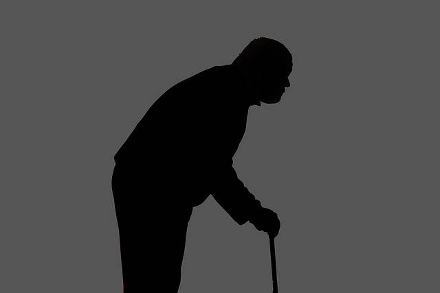 Silhouette Man Hunched Over - Free image on Pixabay (474429)
