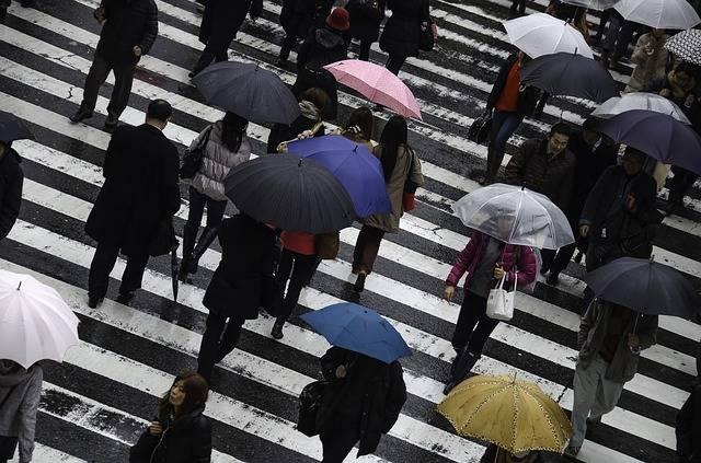 People Rainy Busy - Free photo on Pixabay (474587)