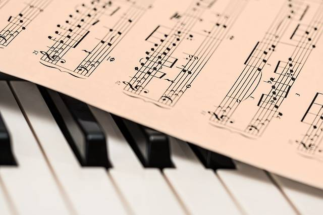 Piano Music Score Sheet - Free photo on Pixabay (476678)