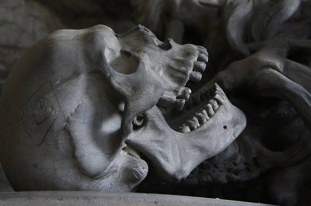 Skull Cemetery Genoa - Free photo on Pixabay (479696)