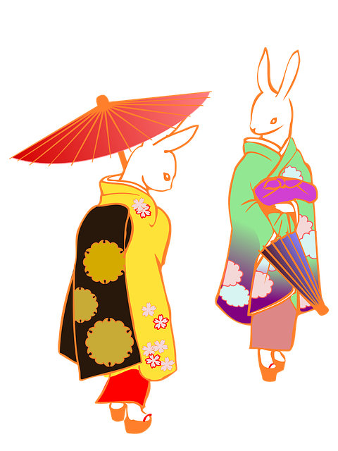 Umbrella Kimono Japan - Free image on Pixabay (480204)