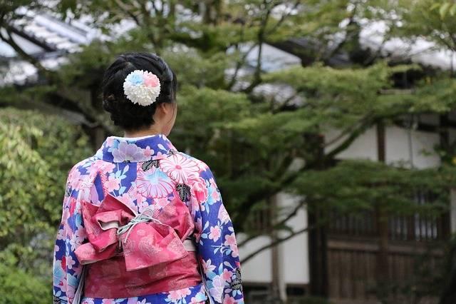 Japan Kimono Figure - Free photo on Pixabay (480720)
