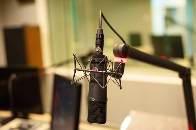 Microphone Radio Mic - Free photo on Pixabay (480817)