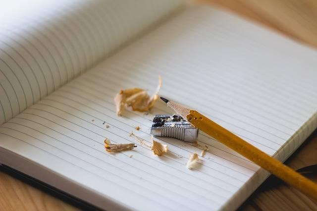 Pencil Sharpener Notebook - Free photo on Pixabay (480907)