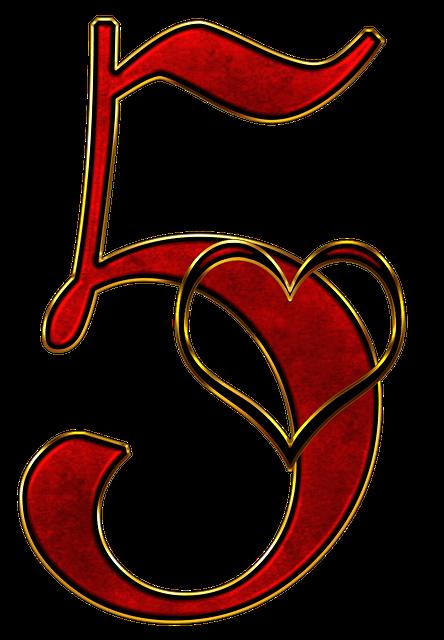 Number 5 Five - Free image on Pixabay (481229)