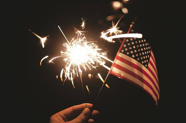 Sparkler Usa American - Free photo on Pixabay (481583)