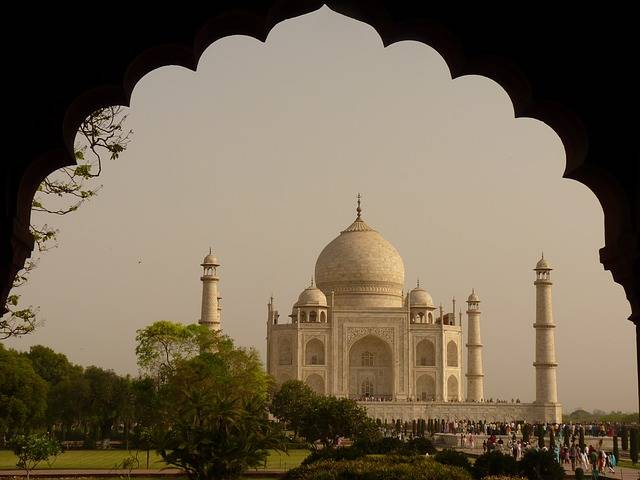 Taj Mahal Mausoleum Agra Uttar - Free photo on Pixabay (483092)