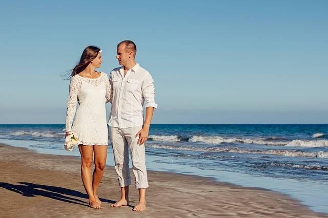 Wedding Beach Love Young - Free photo on Pixabay (483159)