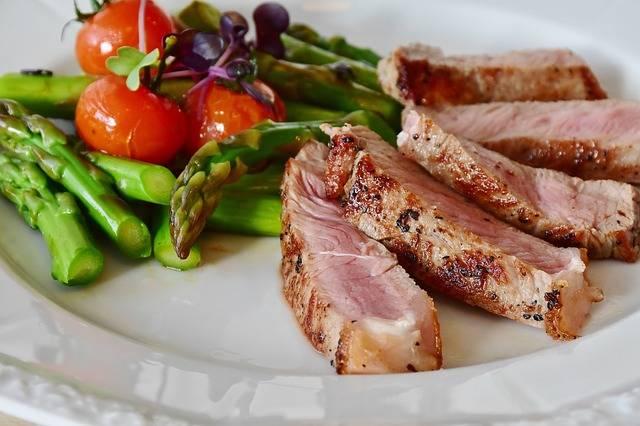 Asparagus Steak Veal - Free photo on Pixabay (483749)