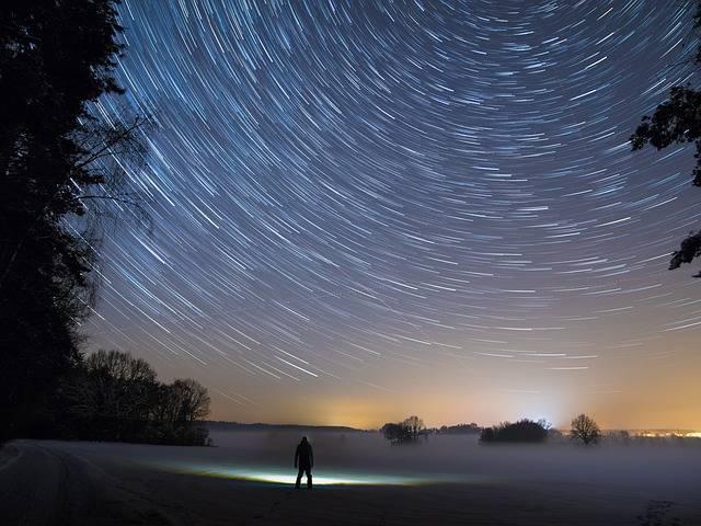 Star Trails Night - Free photo on Pixabay (483915)