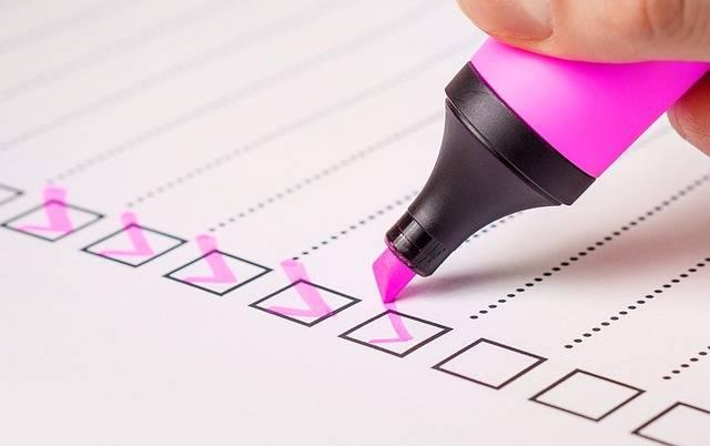 Checklist Check List - Free photo on Pixabay (483920)