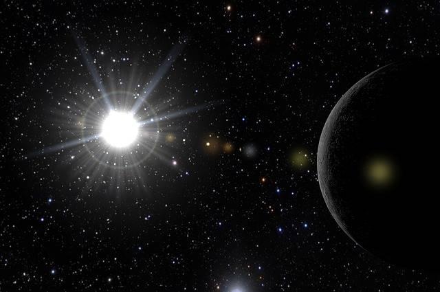 Sun Mercury Cosmos - Free image on Pixabay (483994)