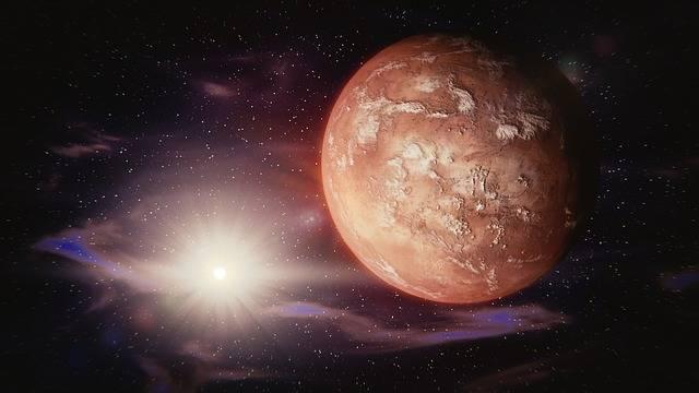Mars Sun Solar System - Free image on Pixabay (484157)