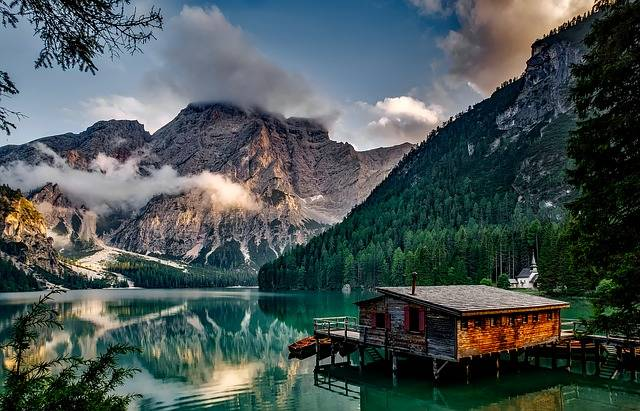 Italy Mountains Pragser Wildsee - Free photo on Pixabay (484424)