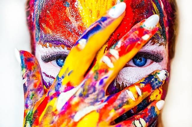Paint Makeup Girl - Free photo on Pixabay (485507)