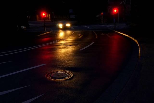 Road Night Light - Free photo on Pixabay (485625)
