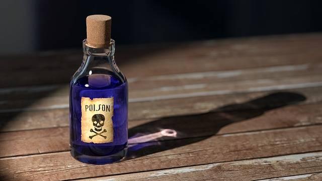 Poison Bottle Medicine - Free image on Pixabay (486516)