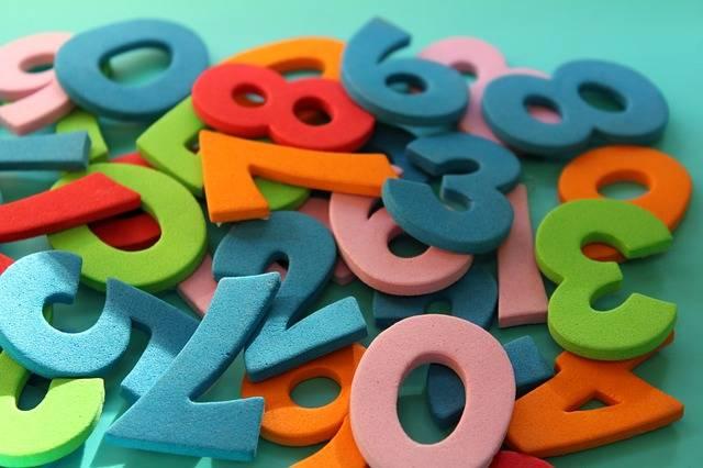 Digits Counting Mathematics The - Free photo on Pixabay (492131)