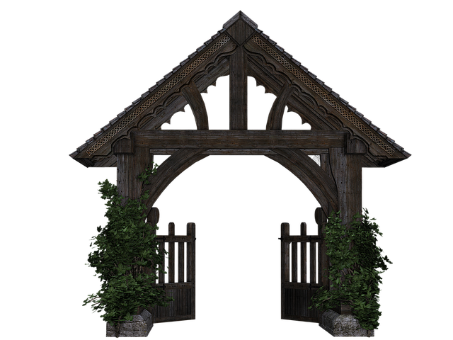 Goal Garden Gate Wooden - Free image on Pixabay (493145)